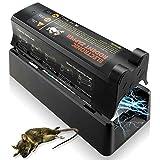 Elektronische Rattenfalle, Effiziente Sichere Mäusefalle Professionelle Rattenköderstation Einfache, Schnelle, Hygienische Rattenfalle Elektrisch Protect