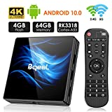 Android 10.0 TV Box, Bqeel R2 Max TV Box RK3318 64-bit Quad Core