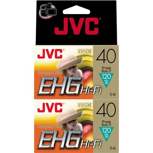 Find Bargain JVC VHS-C Tapes (TC40EHGDU2) (TC40EHGDU2)