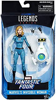 Marvel Legends 6-Inch Fantastic Four Invisible Woman Sue Storm Action Figure with HERBIE