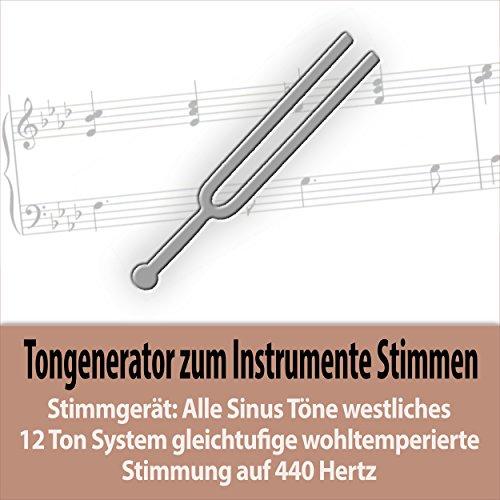Sinuston Tonhöhe E4 - 329,628 Hz - sechste/obere Gitarrensaite e - eingestrichenes e