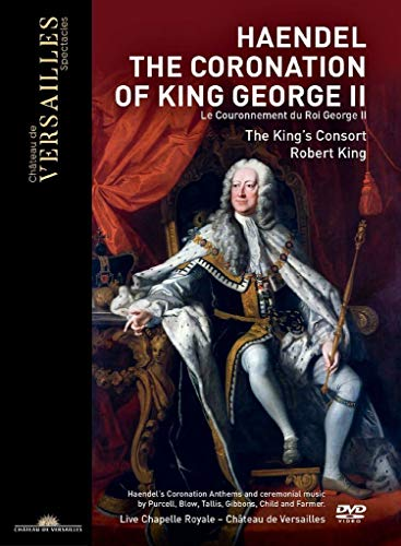 Haendel: The Coronation Of King George Ii/ R.King [DVD]