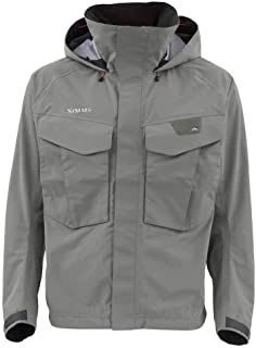 Simms Freestone Wading Jacket for Men, Lightweight, Waterproof, Fishing Rain Jacket