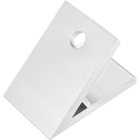 2Pcs 3030 Aluminum Corner Brackets Profile Corner Joint Braces 135 Degree Angle