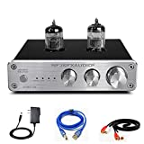 9. FX AUDIO Tube Preamp TUBE-06 HiFi Home Audio Stereo HiFi 6N3 Vacuum Tube Preamplifier for Home Theater Audio Player System CM6653 with Sound Card with Bass Treble Control RCA/USB/AUX Input (Silver)