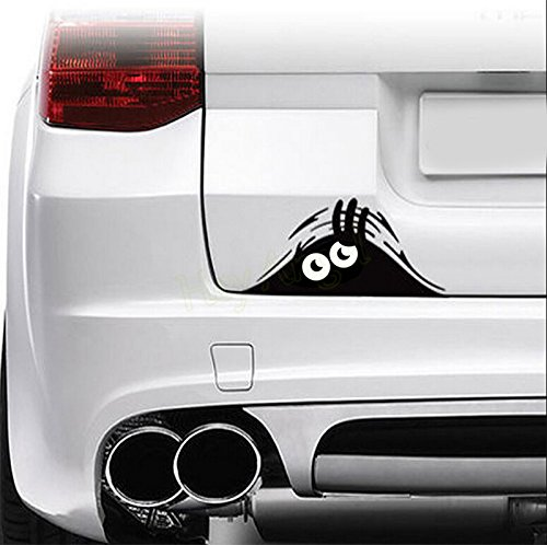 SKS Distribution® 3D Funny Peeking Monster Cartoon Auto-Aufkleber Vinyl Badge Emblem Aufkleber