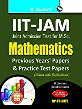 IIT-JAM M.Sc. Mathematics Practice Test & Previous Years' Papers (Solved)