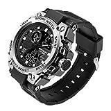 xiaoxioaguo Reloj deportivo para hombre de lujo de cuarzo reloj de los hombres impermeable S Shock reloj de los hombres impermeable reloj de los hombres armygreen