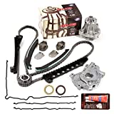 Evergreen TKTCS6054EWOP Compatible With 97-01 Ford Lincoln 5.4 SOHC 16V VIN L Timing Chain Kit Oil Pump GMB Water Pump Timing Cover Gasket