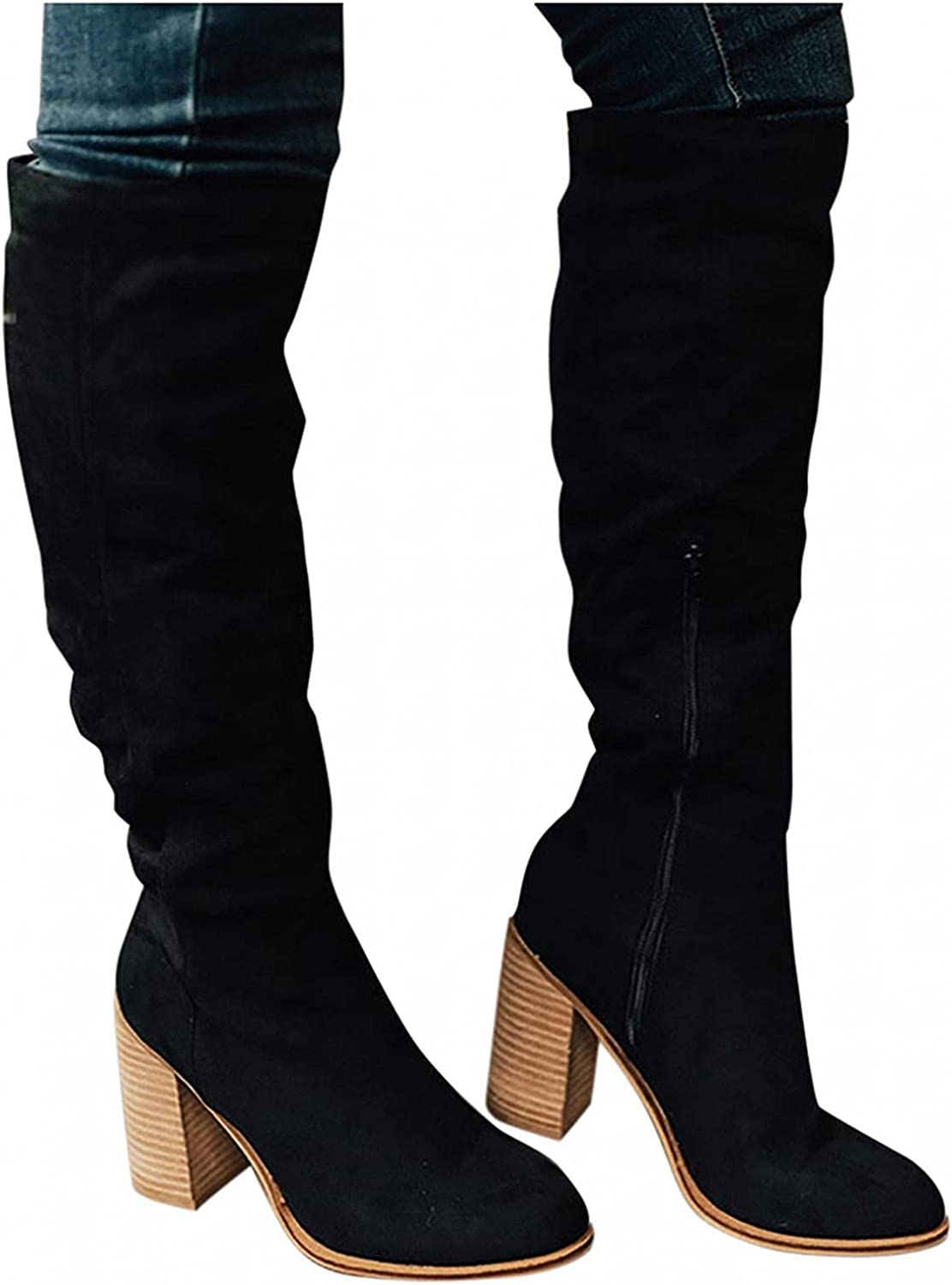Hbeylia Over The Knee Length Boots Women Ladies Fashion For Max 48% OFF Popular popular Chun