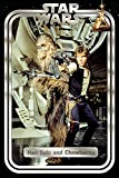 Star Wars Classic Poster Han and Chewie Retro, Mehrfarbig,