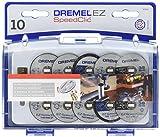 Dremel SC690 EZ SpeedClic Set di Accessori, 10 Dischi da Taglio e 1 Perno EZ SpeedClic...