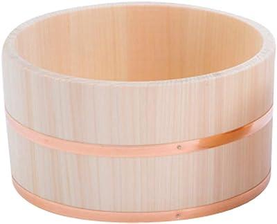 山下工芸(Yamashita kogei) 湯おけ ナチュラル φ21×H11cm 日本製 檜湯桶 小 521535