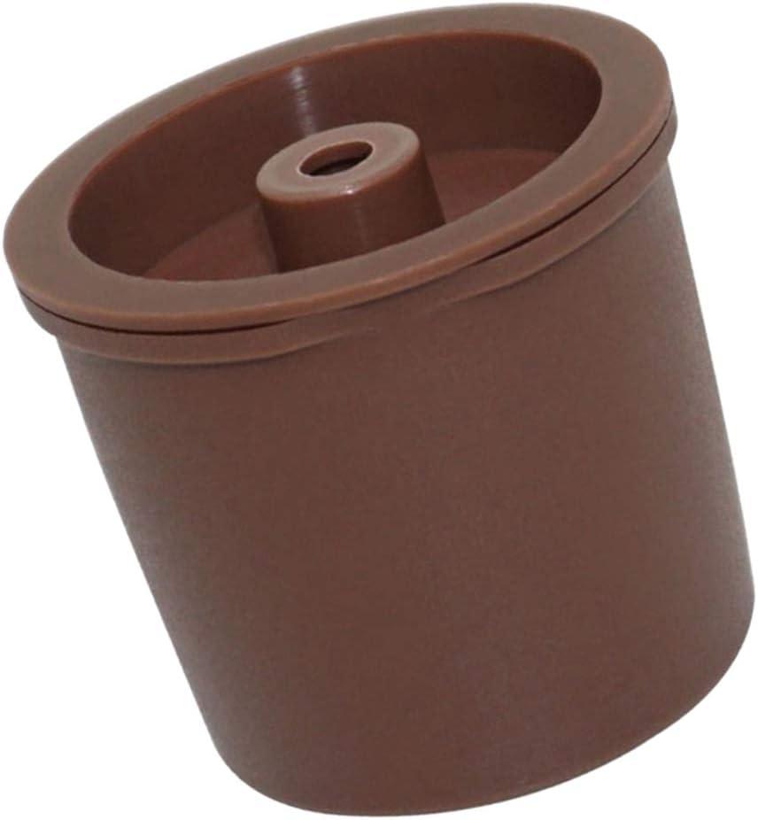 Chiaro PETSOLA Capsule Riutilizzabili Capsulone per caff/è Riutilizzabile Capsulone per Illy Come descritto