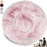 Caseta para perros grandes y pequeños, lavable (100 cm, rosa)