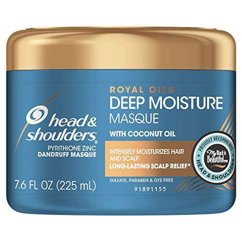 Head and Shoulders Deep Moisture Masque Conditioner Treatment, Anti Dandruff and Scalp Care,...