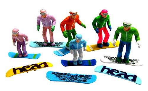 Jaegerndorfer jaegerndorferjc54300stehend Figuren mit Head Snowboards (6-teilig)