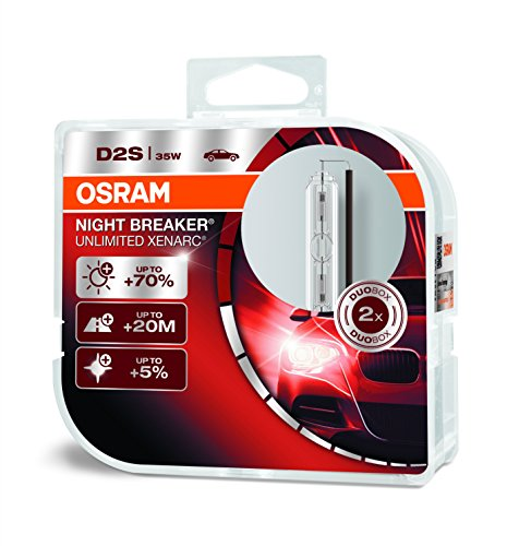 Osram Xenarc Night Breaker Unlimited D2S Hid Xenon-Ontladingslamp, 66240Xnb-Hcb, Duobox (2 Stuks)