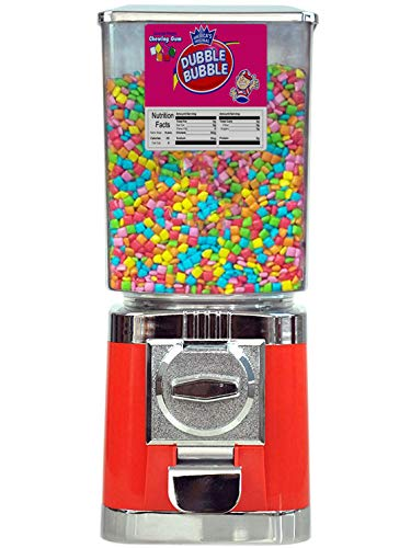 MVS WHOLESALE Red Retro Commercial Grade Candy / Sweet Vending Machine (20p Coin Operated) Man Cave, Office, Birthday