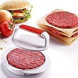 Odowalker Burger Press Hamburger Maker Mould Machine Set BBQ Patty Juicy Regular Beef Maker Round...