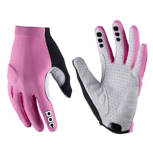 POC Index Flow Guantes MTB, Hombre, Rosa (Sulfur Pink), L