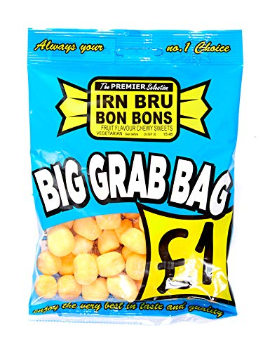 10 x 150g Made with Irn Bru Bon Bon Sweets Big Grab Bags Halal Sweets