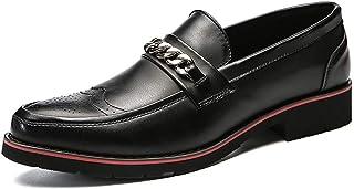 [LILI] メンズ ビジネス シューズ レザー 紳士靴 軽量 滑り止め 耐摩耗 男性 革 通勤 通学