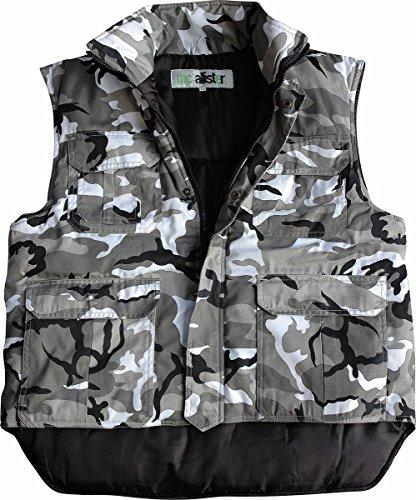mc allister Ranger Arbeits Weste Stepp Outdoor Camouflage Citytarn XL