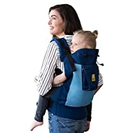 LÍLLÉbaby CarryOn Airflow 3-in-1 Ergonomic Toddler and Child Carrier, Blue/Aqua - 20 to 60 lbs