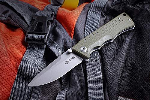 Russisches Taktisches Taschenmesser Split Schwarz Mr. Blade