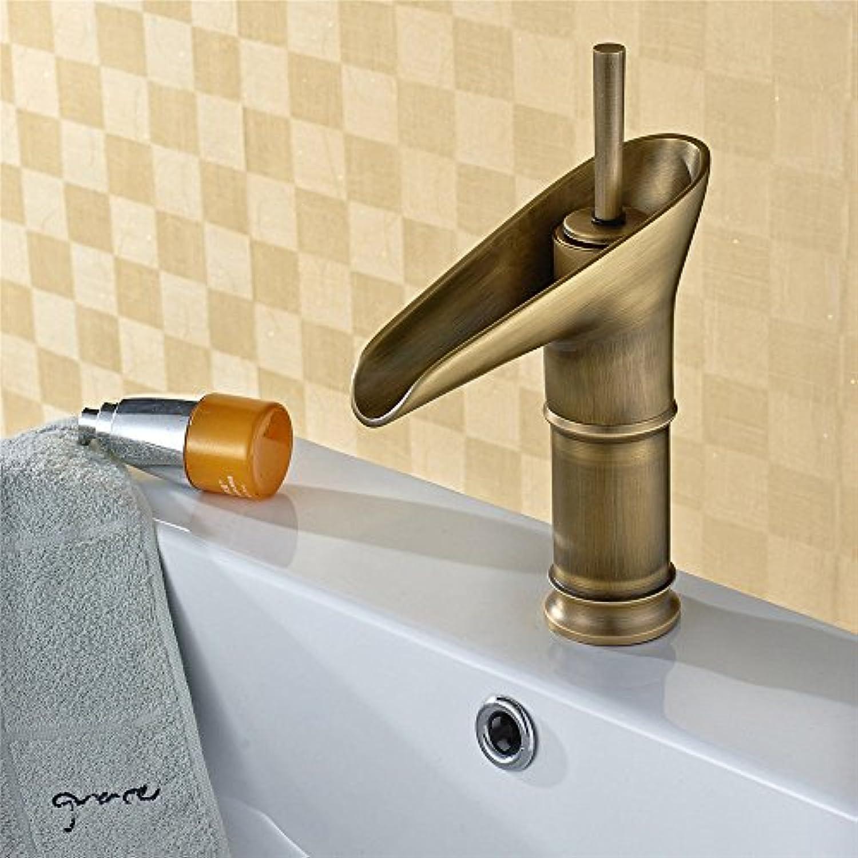 ETERNAL QUALITY Badezimmer Waschbecken Wasserhahn Messing Hahn Waschraum Mischer Mischbatterie Die Copper Grill antike Armaturen Waschbecken Mischbatterie Küchenspüle Arm