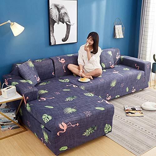 UTDFEOPSG Funda de Fofá Elástica 1 Asiento, Funda de sofá elástica para sofá seccional en Forma de L, Funda de sofá Chaise Longue Funda de sofá elástica-O 90-140 CM