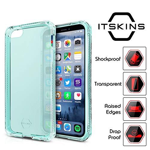 ITSkins iPhone 5 / 5S / SE Spectrum Case Slim Anti-Shock Lightweight Gel Blue