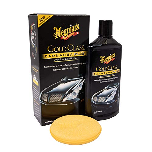 Meguiar\'s G7016EU Gold Class Carnauba Plus Premium Liquid Wax Autowachs, 473ml