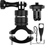 Bike Mount Compatible with Gopro,ChromLives Aluminum Handlebar Mount with 360 Degree Rotation, Camera Bike Mount for Mountain Bicycle/Motorcycle Compatible with Gopro Hero 9/8/7/6/5,Action Camera,Osmo
