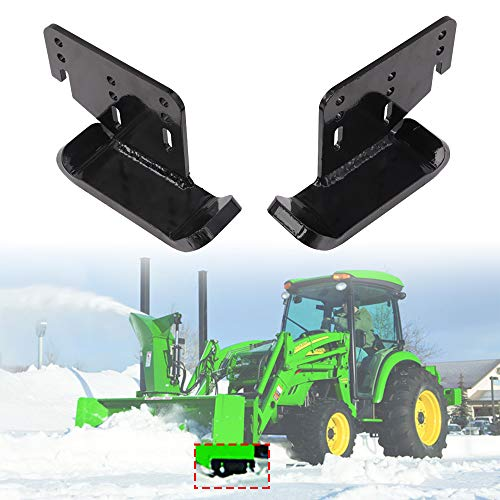 """ELITEWILL Heavy Duty Snow Blower Skid Shoe for 42"""", 44"""", 47"""" and 54"""" Snow Blower/Thrower for John Deere 100, 300, 400,700 Series Tractors AM122263 AM122264"""