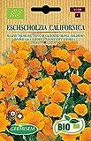 Germisem Orgánica Eschscholzia California Semillas de Amapola de Oro 0.5 g
