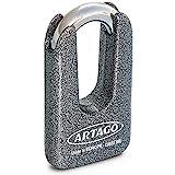 Artago 69T/B Candado Antirrobo Disco Alta Seguridad Doble Cierre ø15...