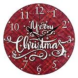 Shutterstock_518025058 Relojes de Pared con Pilas Reloj de Pared Redondo Decorativo para el hogar Cocina Dormitorio Sala de Estar Aula Reloj de Oficina