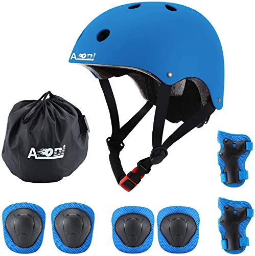 AODI Kids Protective Gear Set for Ages 3-8, Adjustable...