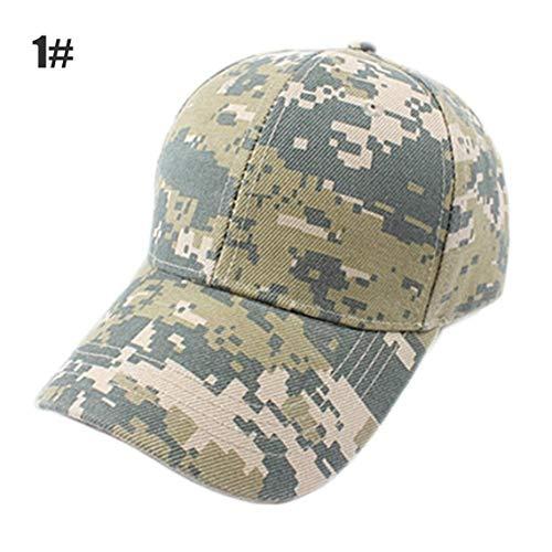 Zinniaya Gorras de béisbol Militares Camuflaje Gorras tácticas al Aire Libre Sombreros de la Marina de Guerra Marines de los EE. UU. Fans del ejército Deportes Casuales Visores del ejército Navy Seal