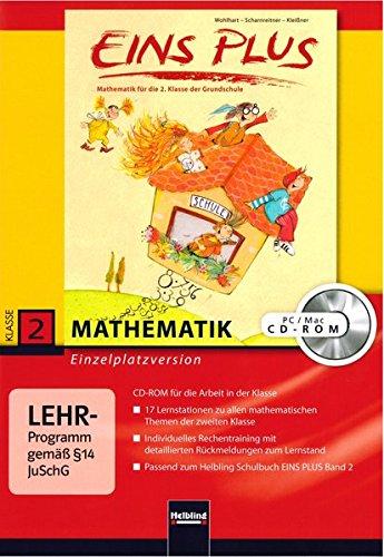 EINS PLUS 2. Ausgabe Deutschland. Lernsoftware für die Klasse: Einzelplatzversion. Klasse 2 (EINS PLUS (D) / Mathematik Grundschule)