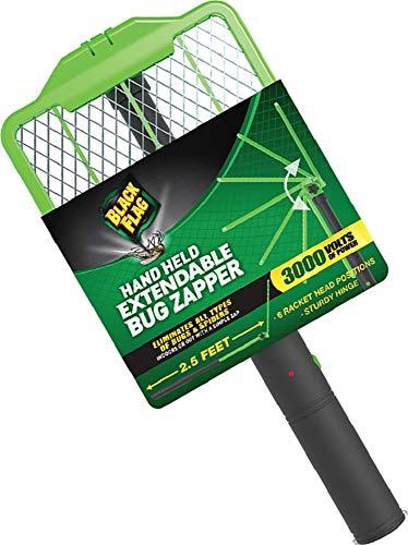 Black Flag ZR-8000 Extendable Handheld Bug Zapper, Green