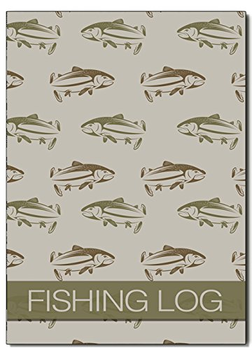 Fitness & Wohlbefinden Angeln Log Book, Angeln Tagebuch/Tagebuch, A5 Fishermans Log Diary, Angler Log Tagebuch, Cover 07