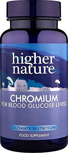 Higher Nature Chromium 200µg 90 tablets