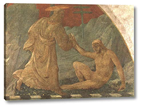 "Creation of Adam by Paolo Uccello - 12"" x 16"" Gallery Wrap Canvas Art Print - Ready to Hang"