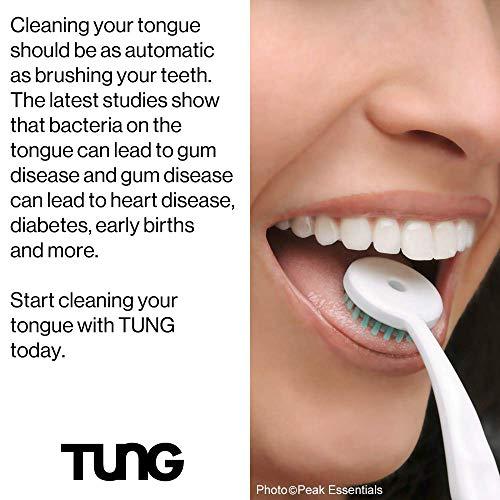 Tung Gel Fresh Mint Zungengel 85g Tube hilft gegen Mundgeruch - 2