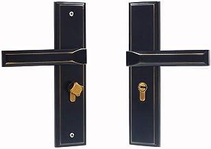 WODMB Aluminium Legering Silent Door Lock Minimalistische Interieur Decoratie Deurgreep Lock Cilinder Veiligheid Deurslot ...