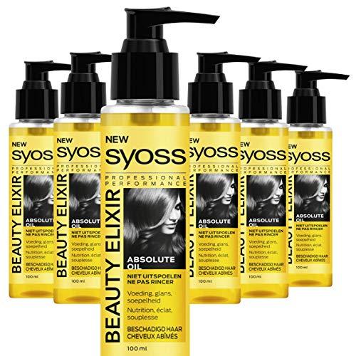Syoss Beauty Elixir Absolute Oil 100ml , 6 stuks