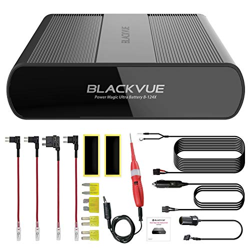 New! Blackvue B-124X Power Magic Ultra Battery Pack   Vehicle Battery   Discharge Prevention   Circuit Tester Included